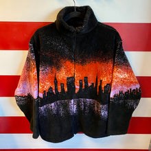 90s Renegade Club Skyline Fleece Jacket