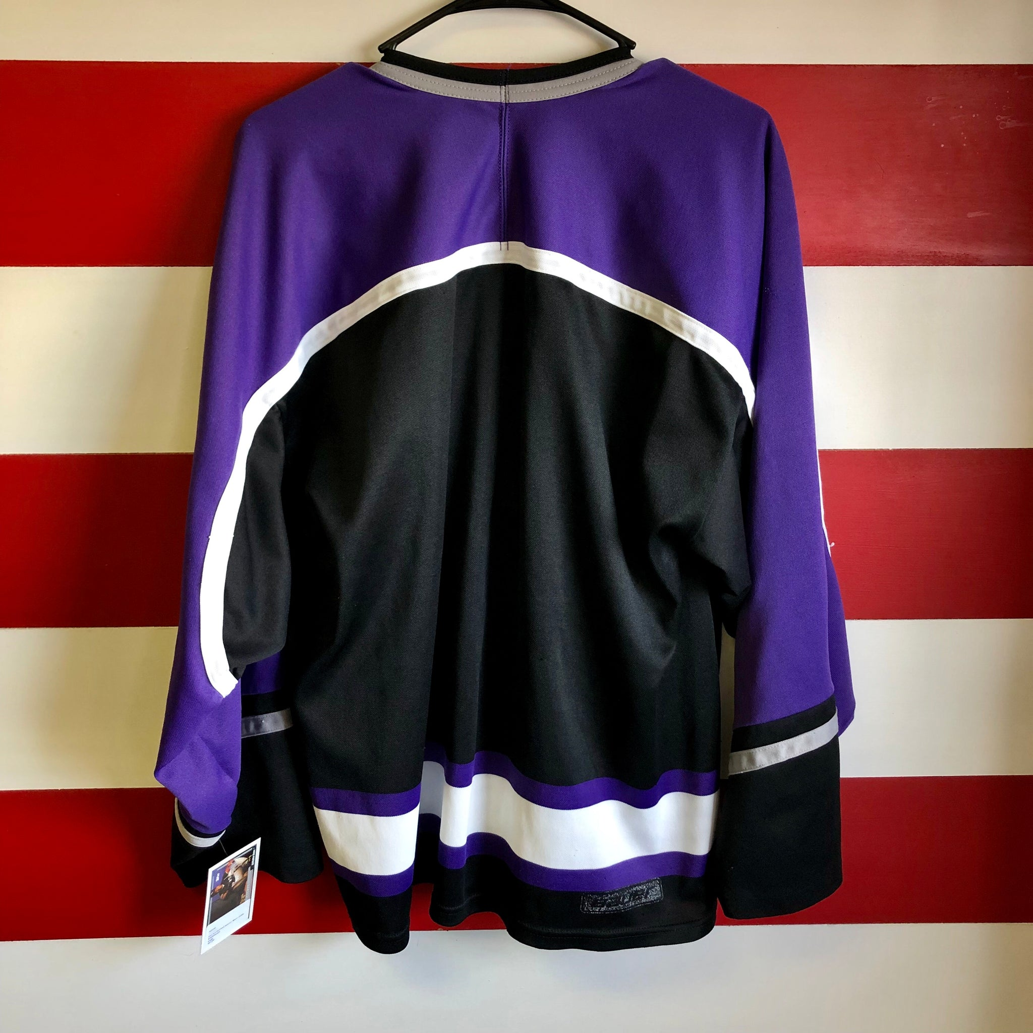 90s Indianapolis Ice Stitched Bauer Brand Hockey Jersey