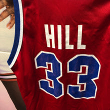 90s Grant Hill Detroit Pistons #33 Champion Jersey