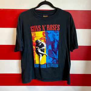 1992 Guns N Roses 'Use Your Illusion' Brockum Licensed Shirt