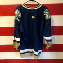 90s University of Notre Dame Fighting Irish Stitched Starter Hockey Jersey