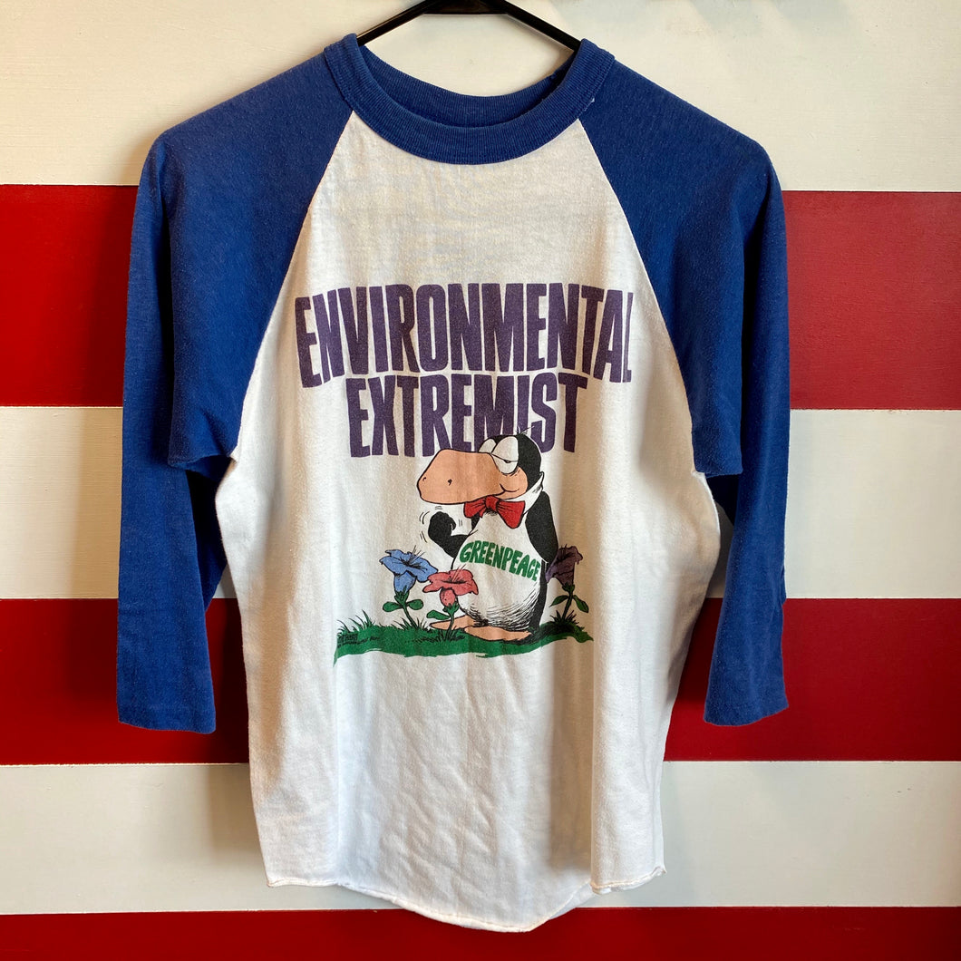 80s Opus Environmental Extremist Raglan Shirt