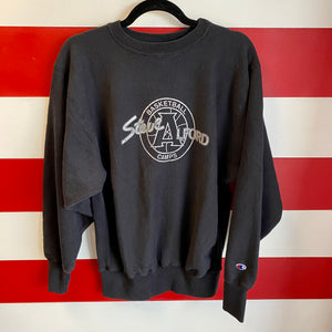 90s Steve Alford Basketball Camps Champion Reverse Weave Sweatshirt