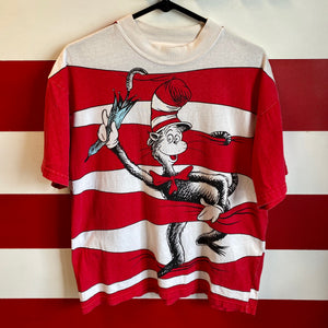 90s Cat in the Hat Dr Seuss Shirt