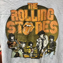 1980 The Rolling Stones Origional Raindrop Productions Shirt