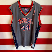 Early 2000s Keith Van Horn New Jersey Nets Champion Jersey