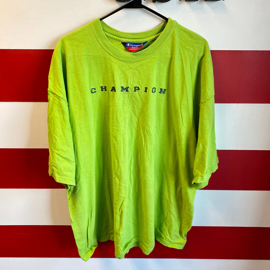 Early 2000s Champion Spellout Shirt