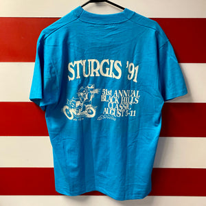 1991 Sturgis Hog Campground Shirt