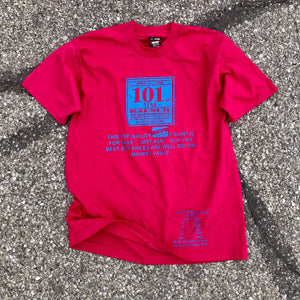 1995 Fruit of the Loom Best Brand T-Shirt Pricing Promo Shirt