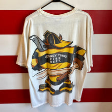 1994 Taz Looney Tunes Fire Department Shirt