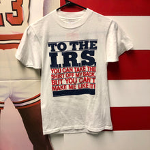 1983 IRS 'Take The Shirt Off My Back' Shirt