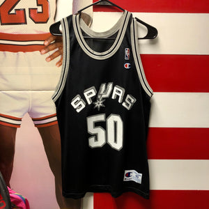 90s David Robinson San Antonio Spurs Champion Jersey
