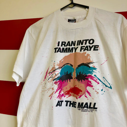 1987 Tammy Faye 'At The Mall' Screen Stars Shirt