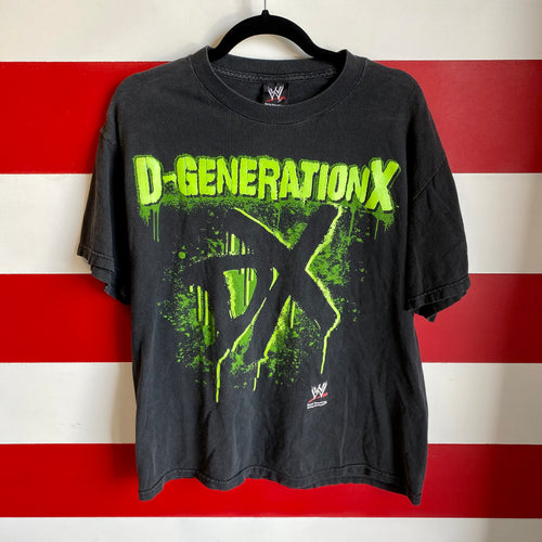 Early 2000s D Generation X WWE Shirt
