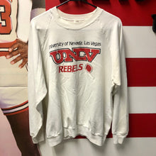 80s UNLV University Of Nevada Las Vegas Rebels Crewneck Sweatshirt