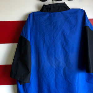 90s Boss America Brand Patched 1/4 Zip Short Track Suit