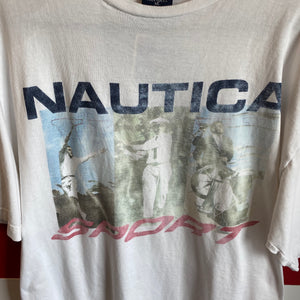 90s Nautica Sport Made in USA Shirt