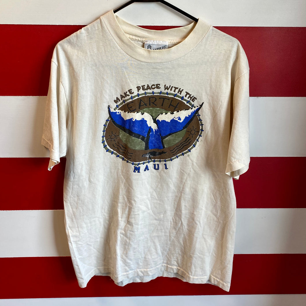1991 Make Peace With The Earth Shirt