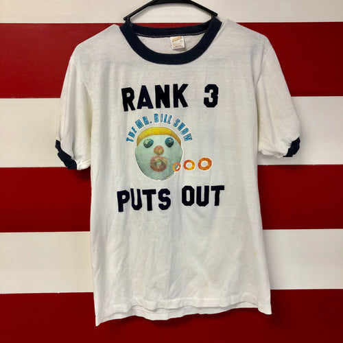 1979 Mr. Bill 'Rank 3 Puts Out' Ringer Shirt