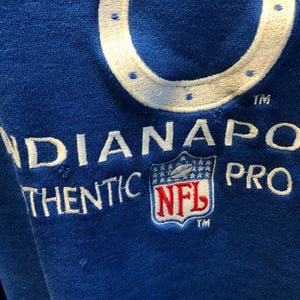 90s Colts Logo Athletic Authentic Pro Line Sweatshirt
