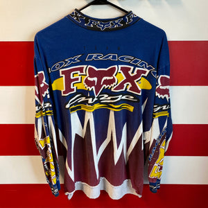 90s Fox Motocross Racing Longsleeve Shirt
