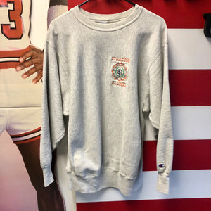 90s Syracuse University Alumni Champion Reverse Weave Sweatshirt