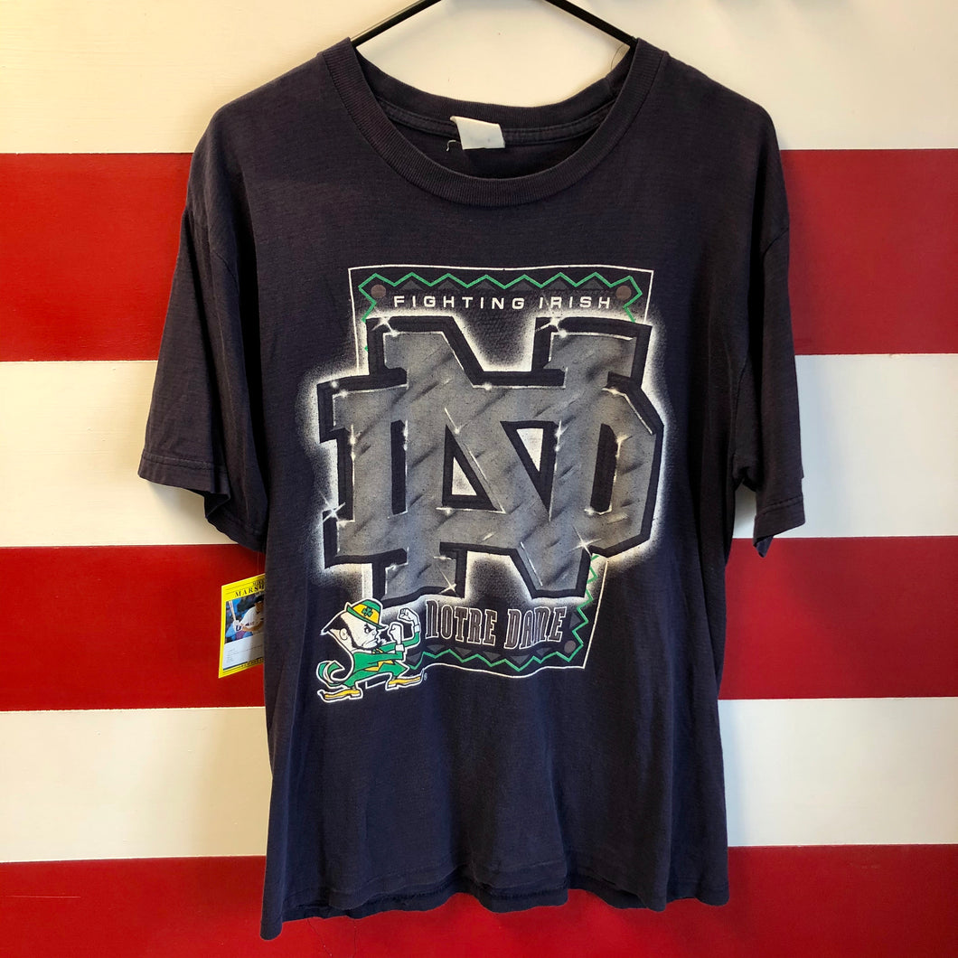 90s Notre Dame Fighting Irish Graphic Shirt