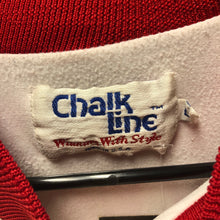 90s San Francisco 49ers Chalk Line Fanimation Satin Jacket