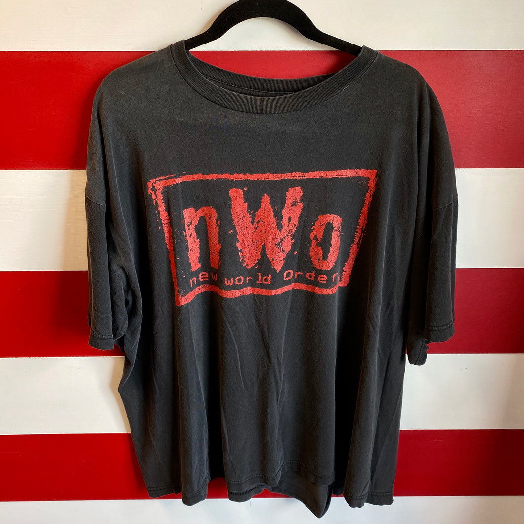90s New World Order NWO Pac In Da House WWF Shirt