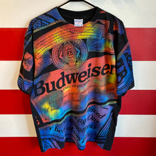 90s Budweiser King of Beers All Over Print Shirt