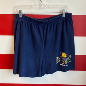 90s Indiana Pacers Cotton Shorts