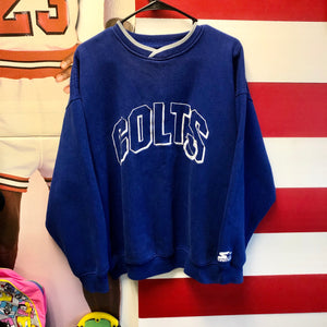 90s Indianapolis Colts Starter Ribbed Sweatshirt