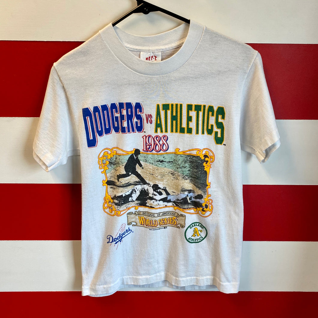 1988 Dodgers Athletics World Series Shirt