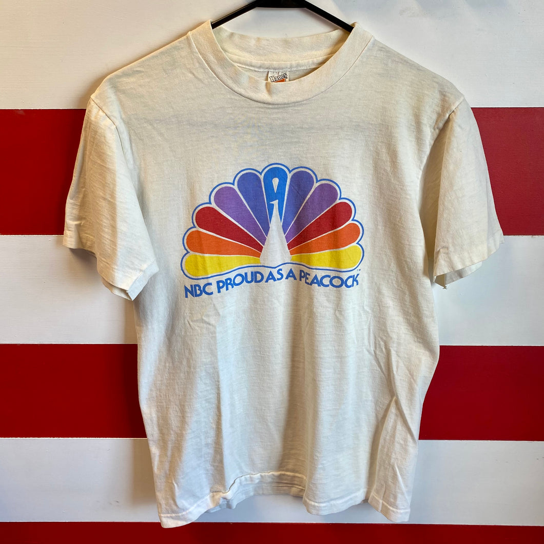 70s NBC Proud as a Peacock Shirt