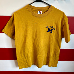 90s Michigan Wolverines Shirt