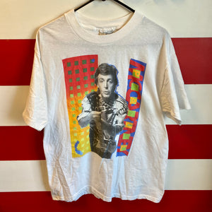 1989 Paul McCartney Mac Is Back World Tour Shirt