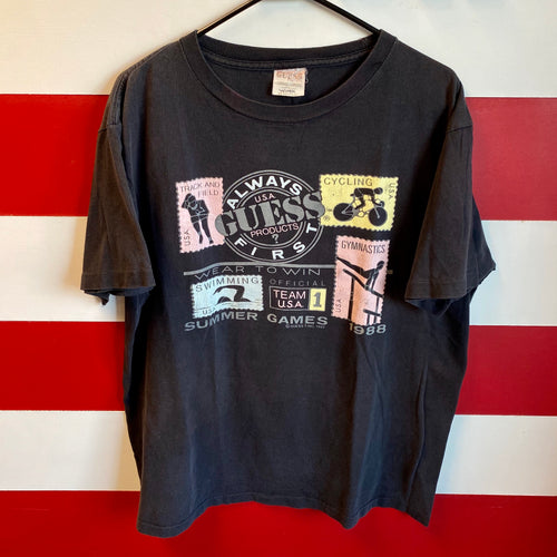 1987 Guess Products Summer Games Shirt