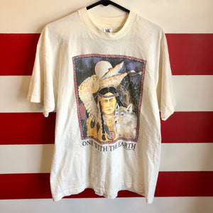 1992 One With The Earth Human-I-Tees Shirt