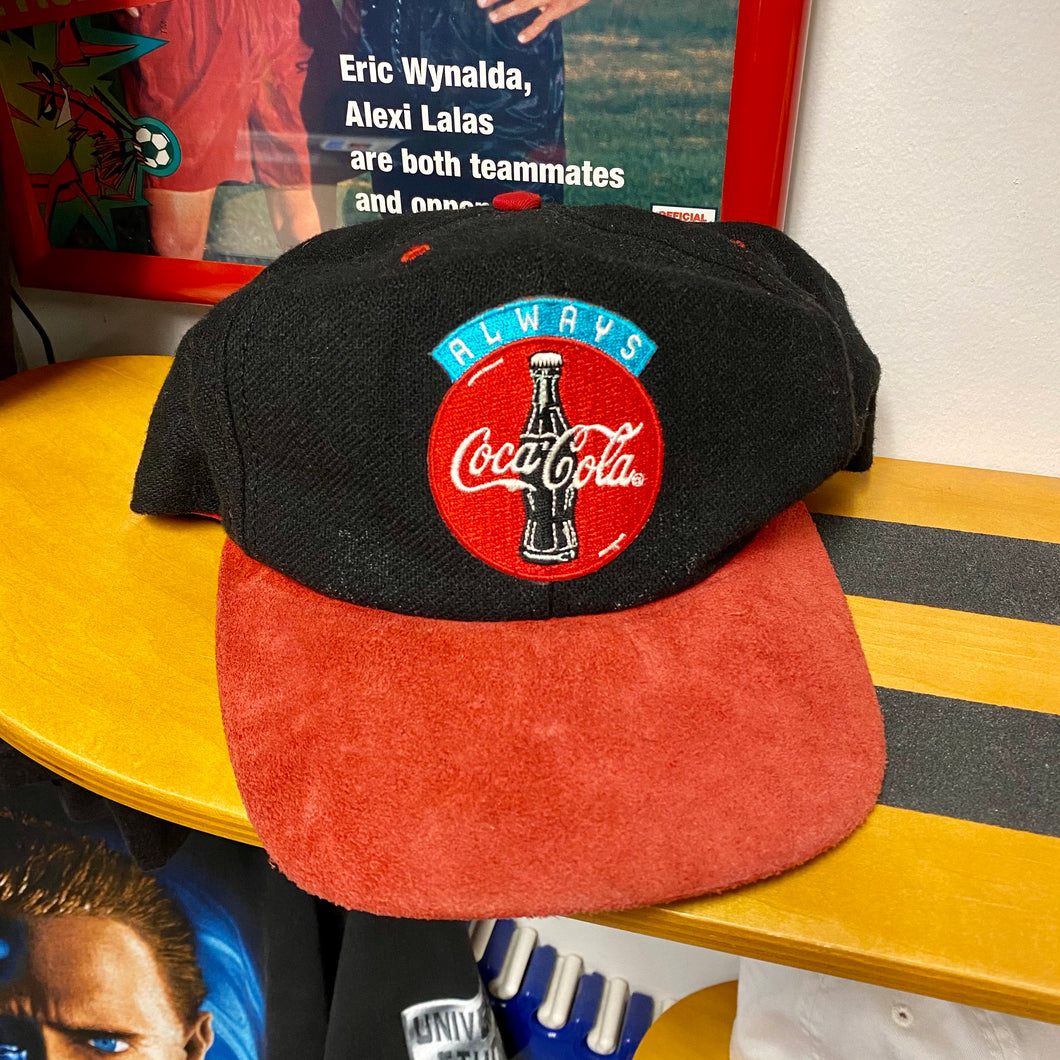 90s Coca Cola Always Snapback Hat
