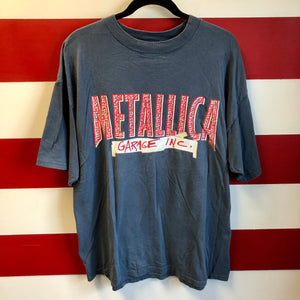 1998 Metallica Garage Inc Tour Giant Brand Shirt