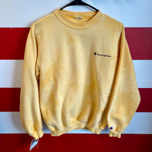 Early 2000s Champion Bleach Sweatshirt