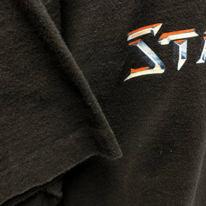 1998 Starcraft Spellout Back Logo Video Game Promo Shirt