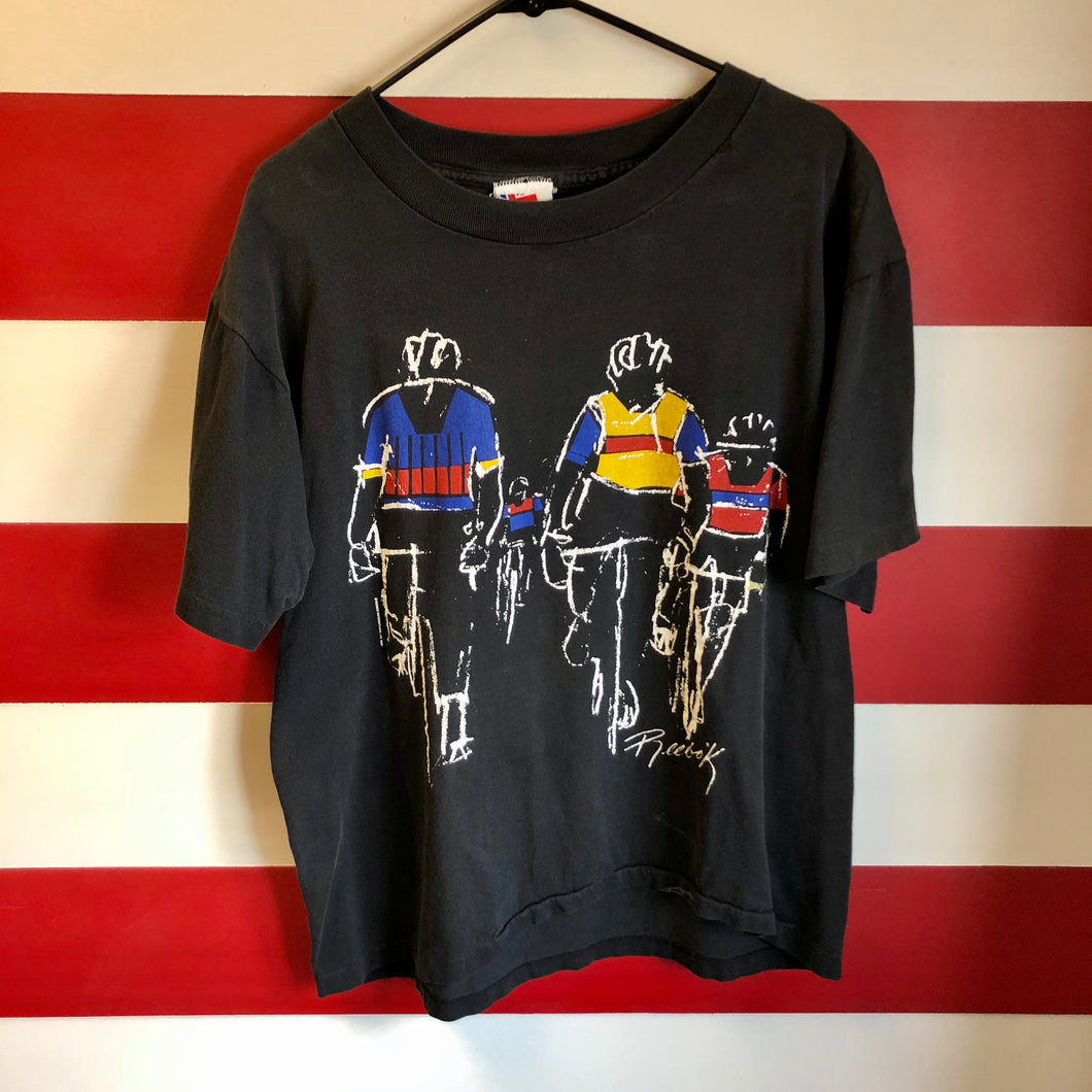 90s Reebok Cyclists Shirt