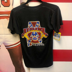 80s Alabama In Concert US Tour Original Fan Made Bootleg Shirt