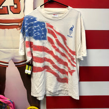 1996 Atlanta Olympics All Over Print USA Flag Shirt