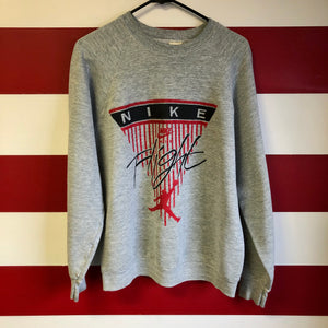 90s Nike Air Style Flight Crewneck Sweatshirt