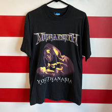1995 Megadeth Youthanasia Tour Shirt