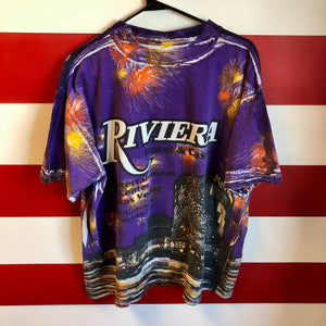 90s Riviera Hotel and Casino All Over Print Shirt