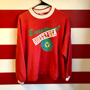 1987 Guess USA Exceptional Sweatshirt
