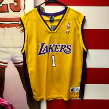 Early 2000s Los Angeles Lakers Wrucke #1 Champion Jersey